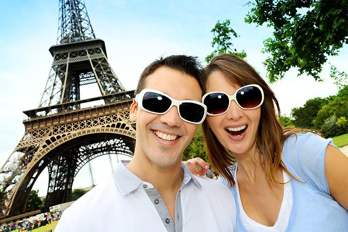 Viajar em casal é a melhor coisa do mundo