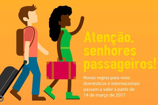 Confira as novas regras para transporte aéreo no Brasil